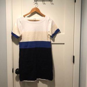 Color Block J Crew Casual Dress